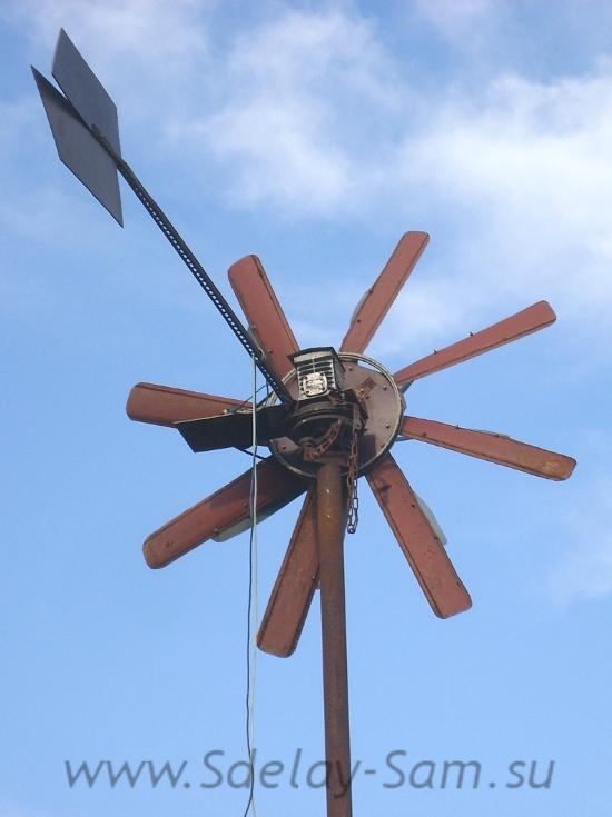ветряк для дачи